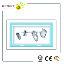 Infant Baby Hand & Footprints Hand Prints Casting 3D Molding Kit