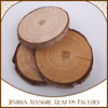 30mm round wood shapes basswood round wood slice for craft decorations