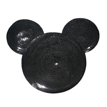 Fashion mouse head sequins patch for t-shirt BK-MTF489