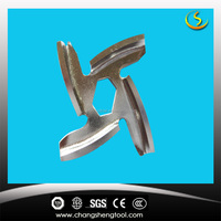 factory customize meat grinder knife blades/knife for meat mincer/ spare parts for meat chopper