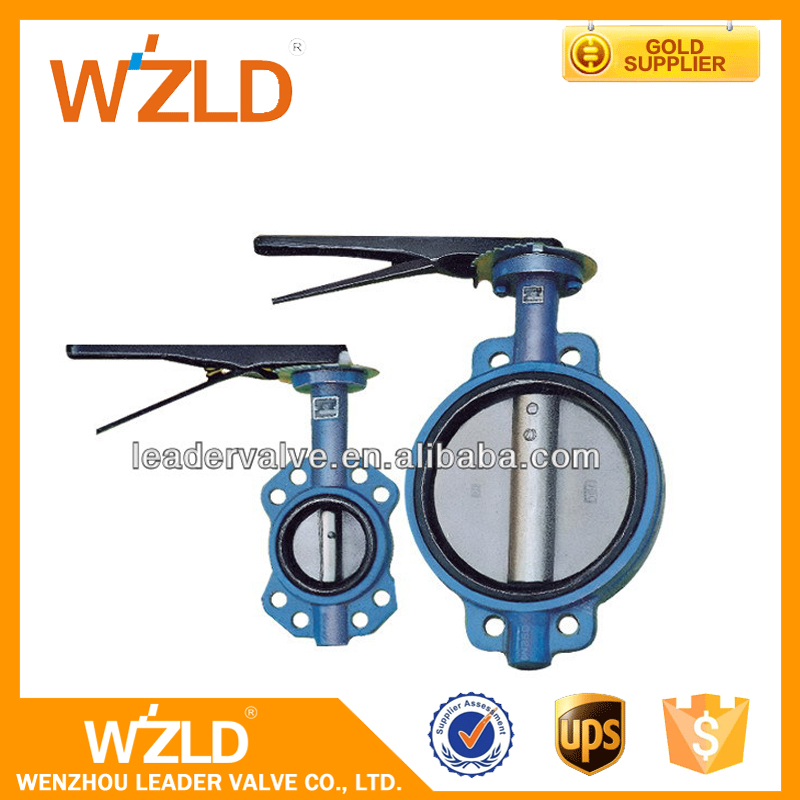 WZLD Factory Price Gear Operator 12 Inch Electric Actuator Pneumatic Butterfly Valve