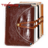 Smart stand PU leather bag for ipad mini 360 rotating for ipad mini case