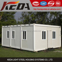 temporary prefab container house, prebuilt container home, prefabricated container office