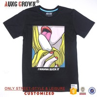 2016 Hot Sale T Shirt For Man With Custom Printing