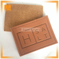 fashion fake leather label patch