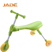 Baby walking bike with 3 PVC wheel kid scooter kick scooter for child with seat