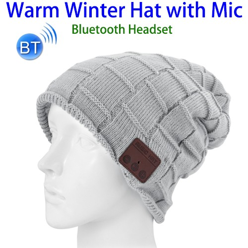 Winter Knitted Bluetooth Beanie Hat With Headphone Wholesale