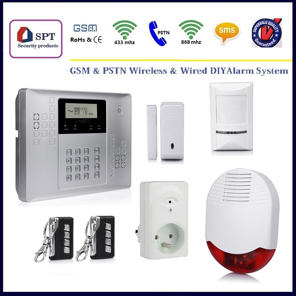 spt home automation, spt siren, spt security alarm system