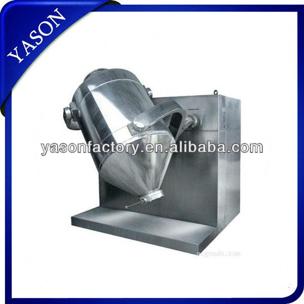 3d rotating drum powder mixer