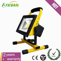 hot sale portable emergency rechargeable led flood light for homes with CE ROHS SAA certification