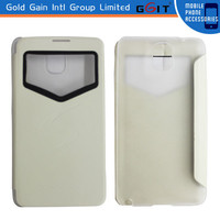 Newest PU Flip Cover For Galaxy For Note 3,For Note 3 Flip Cover