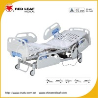 OST-E504R Five Function Electric Medical Hospital Bed Hospital Furniture