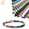 multicolor natural real stone bead treasure