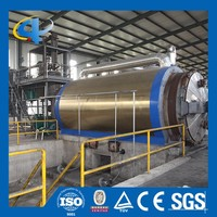 Plastic recycling line with hot sale pyrolysis plant