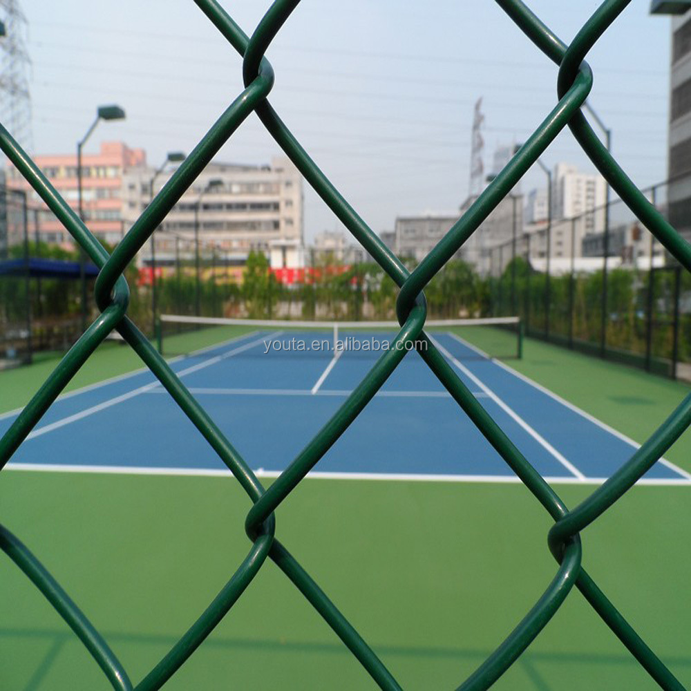 High quality-assured low price fence mesh for sports running track, beautiful welded wire fence mesh for athletic stadium
