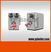 Horizontal Oil And Gas Fired Hot Water Boiler, Germany burner