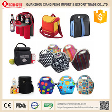 Professional high quality multi style insulated lunch bag neoprene lunch bag