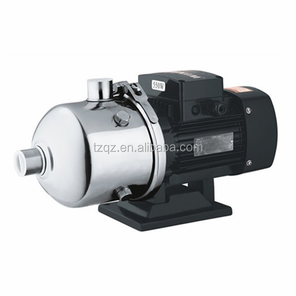 Stainless steel light horizontal multi-stage centrifugal honda water pump