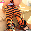 Hot Style Baby Icing Ruffle Pants Toddler Girl Wholesale Children's Boutique Clothing Baby Halloween Striped Icing Legging