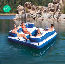New products giant outdoor inflatable water floating island for sale