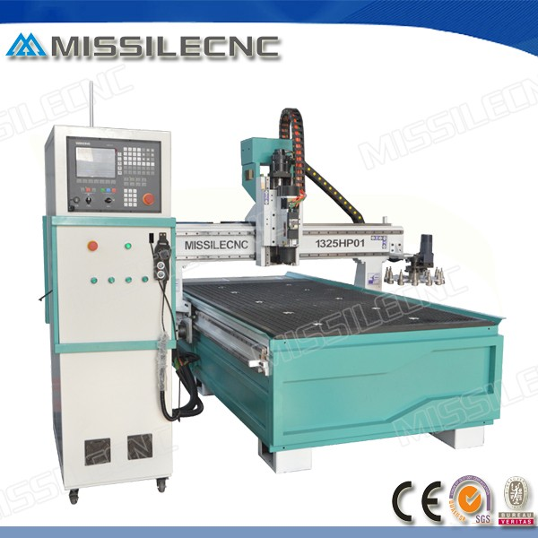 High accuracy cnc router machine for cutting aluminium soft metal acrylic