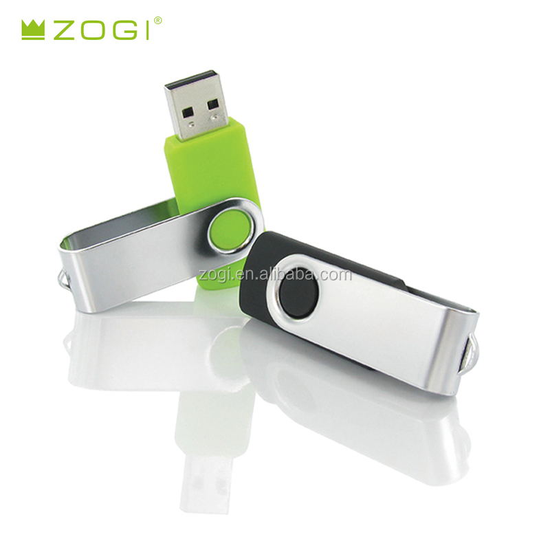 Classic Swivel 8GB 16GB USB flash drive memory stick pen drive support laser or imprint logo