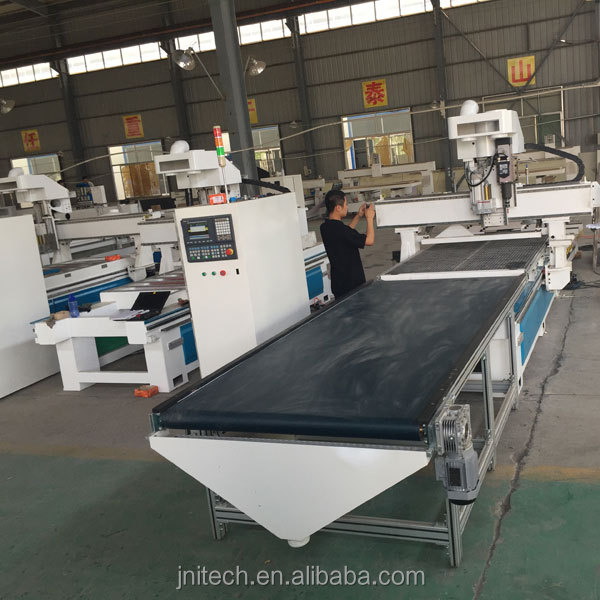 automatic furniture making machine with nesting system