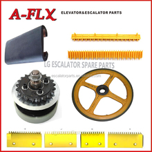 Escalator Parts Type escalator handrail / comb / roller for sigma escalator spare parts