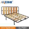 simple design metal/steel single bed DJ-PM01 wholesale bed frames