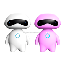 Humanoid Smart Robot Toy, Chinese/English Communicate Intelligent Voice Control Toy Robot With Bluetooth Speaker