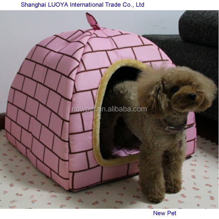 China supplier wholesale newest pink mongolian yurt style house custom indoor dog house