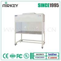 class 100 stainless steel portable vertical laminar flow hood/clean bench
