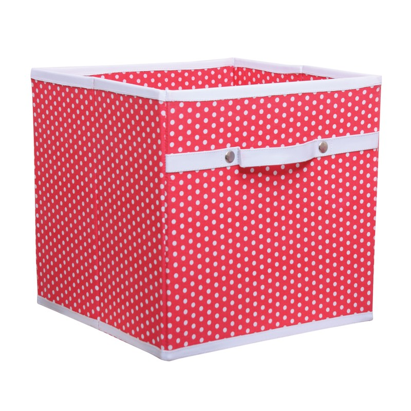 free sample wholesale home organizer non woven durable kids toy storage box with lid