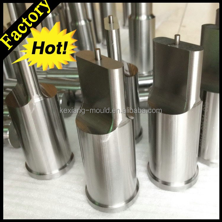 MISUMI Precison flat shank oblong punch for die molds Cutting edge Punch pins,mold factory in dongguan