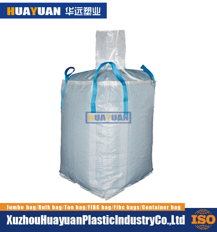China gold manufacturer heavy duty pp woven bag super sack