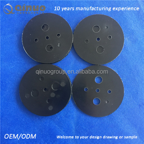 Shanghai manufacturer plastic custom injection molded plastic PE washer