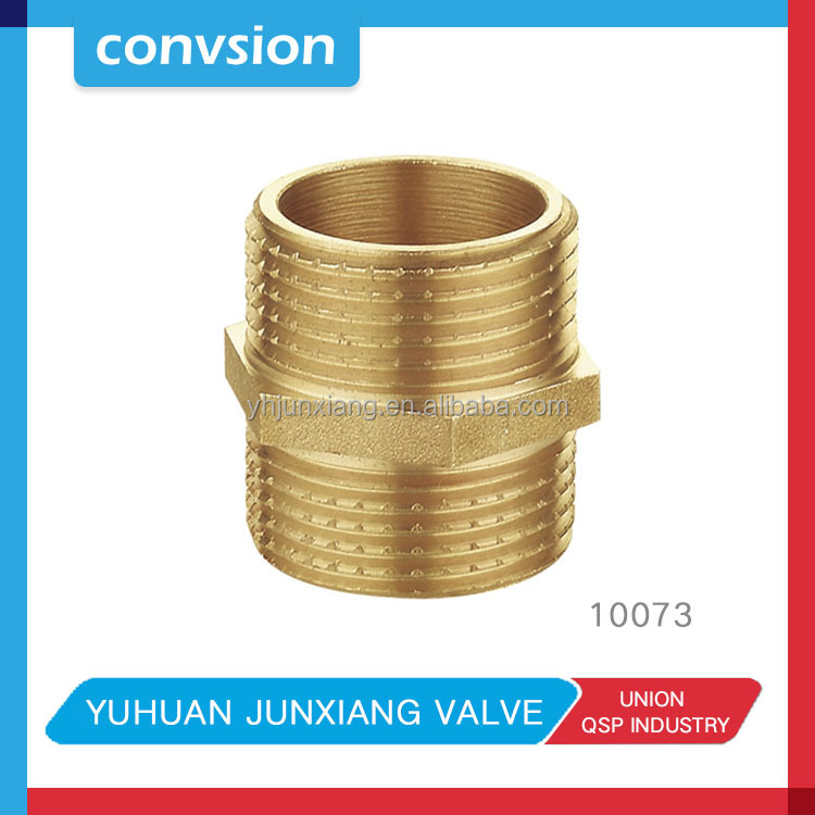 Junxiang brass plumbing g.i. pipe fittings/brass 10mm compression fittings