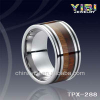 China Wedding Dress Tungsten Black Walnut Wood Grain Ring Alibaba Jewelry Settings Catalog