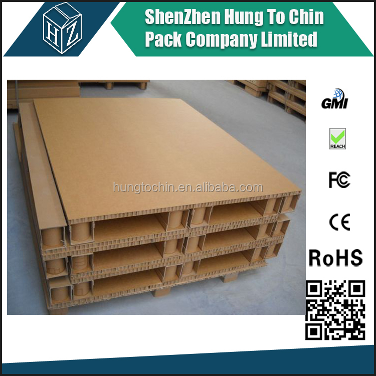 Export factory produce corrugated paper standard pallet size