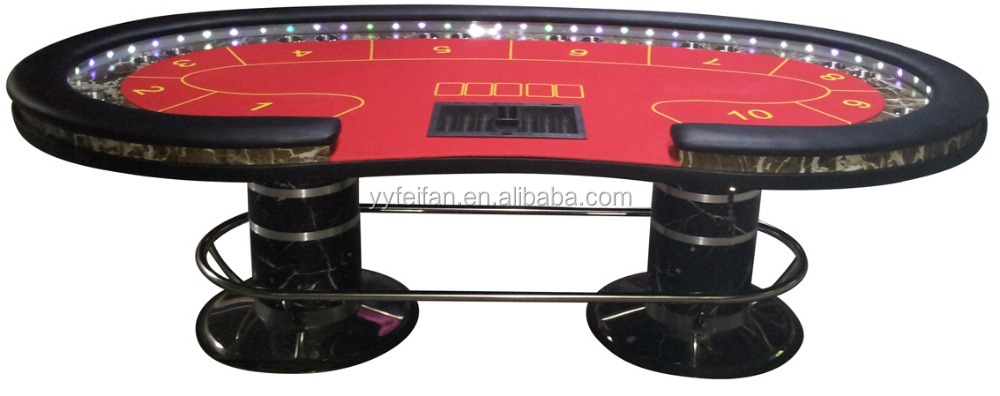 high quality custom casino poker table for sale