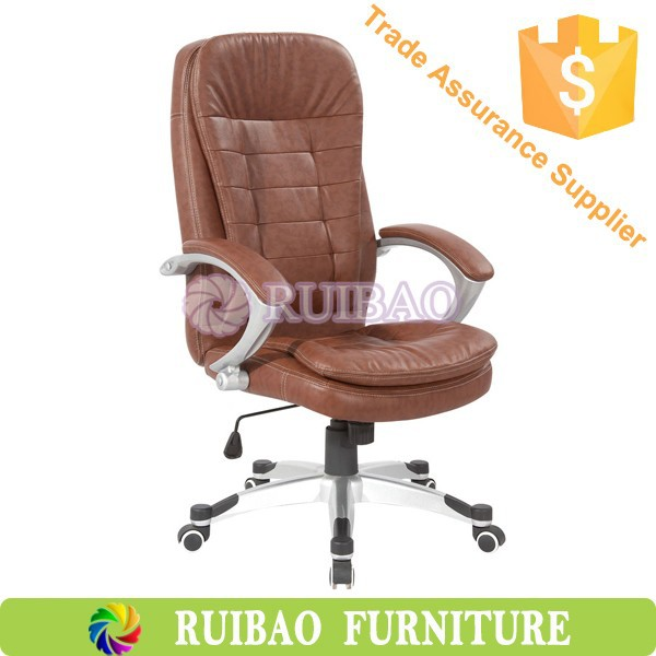 2016 Leather General Use Commercial Office Chair Chair Office of ROC-8238A