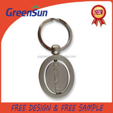 Direct Factory Price Cheapest name leather metal keychain