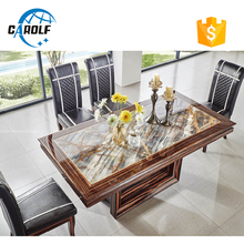 dining room furniture wooden luxury dining set