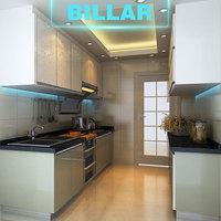 China ready to assemble wall hanging kitchen cabinets