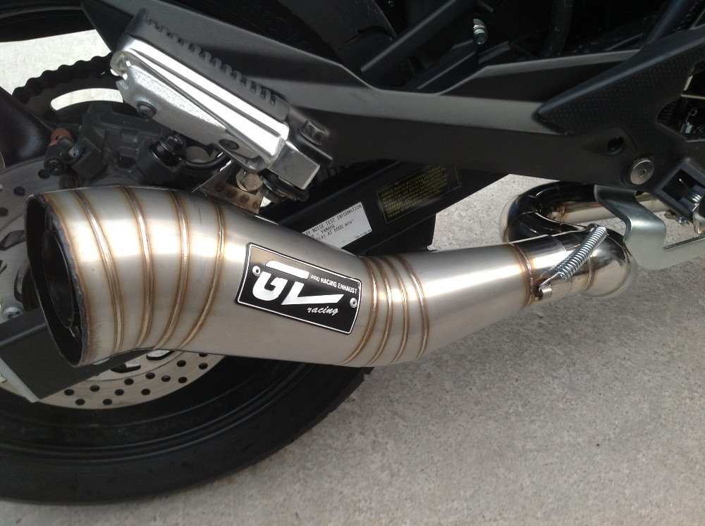 Stainless Steel Motorbike Exhaust Pipes