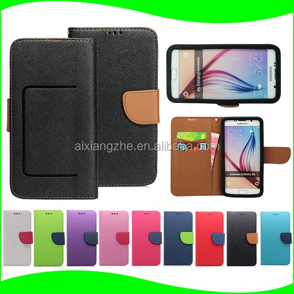 Wallet Leather Soft Silione Cell Phone Case for Samsung Galaxy S4 I9500, for life proof case for samsung galaxy s4 i9500 mini
