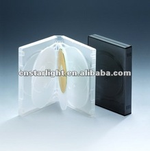 27MM Translucent Multiple DVD Case for 8 disc