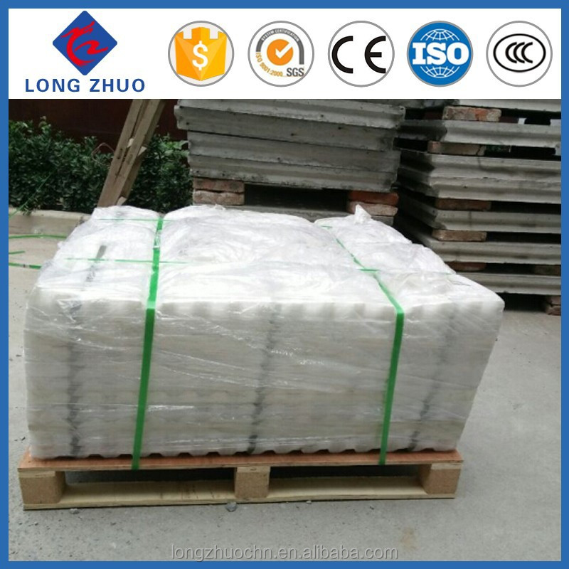 Tube settlers PVC sheet water treatment materials, PP inclined tube lamella sheet