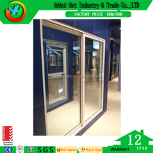 Factory Price Window And Doors Hot Sale PVC Profile Sliding Glass Window/Used Glass Sliding Windows