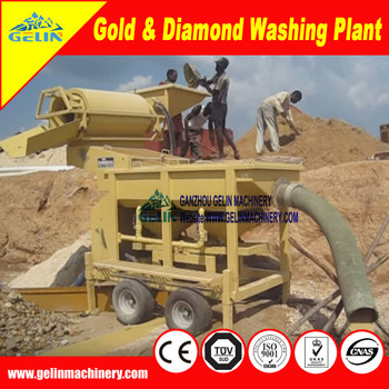 Mobile Diamond Wash Plant